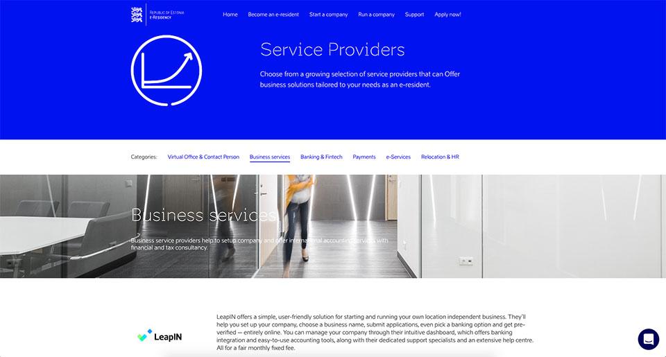 LeapIN Service Provider