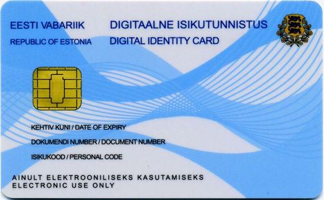 e-Residency ID card