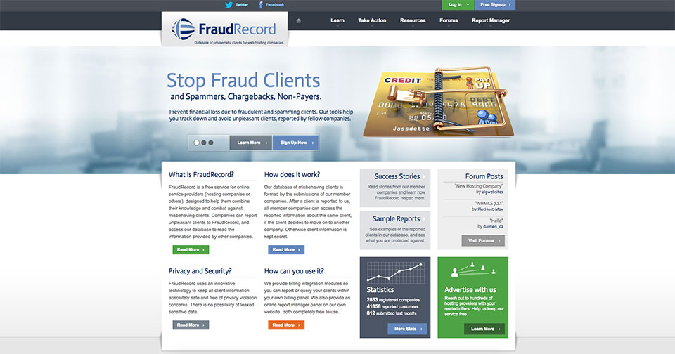 FraudRecord